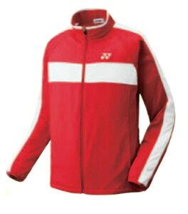 ヨネックス UNI ニットウォムアップシャツ(フィットスタイル) 16FW テニス ウエア 51019-001 (レッド)
