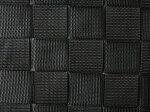 ロッキングチェア(A1793)ブラック黒色生地アップ