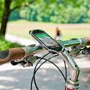 自転車用 スマホ ホルダー  FINN フィン【高品質 シリコン 自転車 スマートフォン ホルダー ...