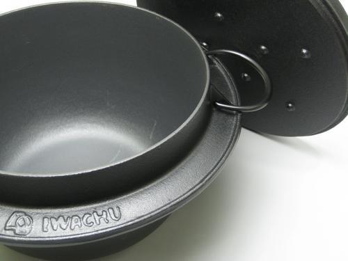岩鋳南部鉄器 ごはん鍋(3合炊)IH調理器対応  【RCP】【50S80】