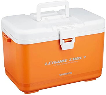 クーラーボックス 小型 5.8L レジャークール7LC-007L 釣り用 オレンジ [772435] [シマノ(SHIMANO)]