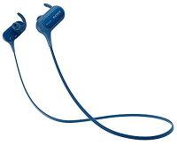 ワイヤレスイヤホン MDR-XB50BS : 防滴/スポーツ向け Bluetooth対応 マイク付き[MDR-XB50BS L](ブルー)