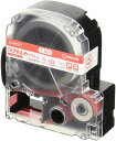 テープカートリッジ テプラPRO マグネットテープ 18mm 白 SJ18SR