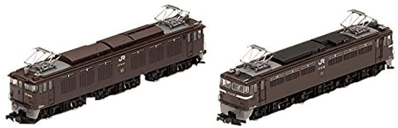 TOMIX Nゲージ JR EF64 41号機・茶色 EF65形電気機関車 56号機・茶色セット 98977 鉄道模型