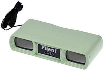 Kenko オペラグラス 3倍 Pliant 3X25 [グリーン] [PL325GR] [ケンコー]
