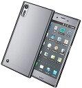 Xperia XZs ケース 対応 カバー ソフトケース サイドメッキ 純正卓上ホルダー対応 ブラック(ブ……