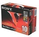 VHSビデオカセット スタンダード、120分、10巻パック 10T120VM