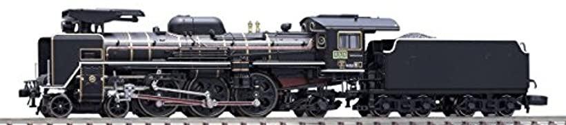 C57 1号機 蒸気機関車 ロッド赤 品番:2008