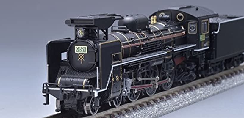 TOMIX Nゲージ C57形 1号機 ロッド赤入 鉄道模型 蒸気機関車 2008_1