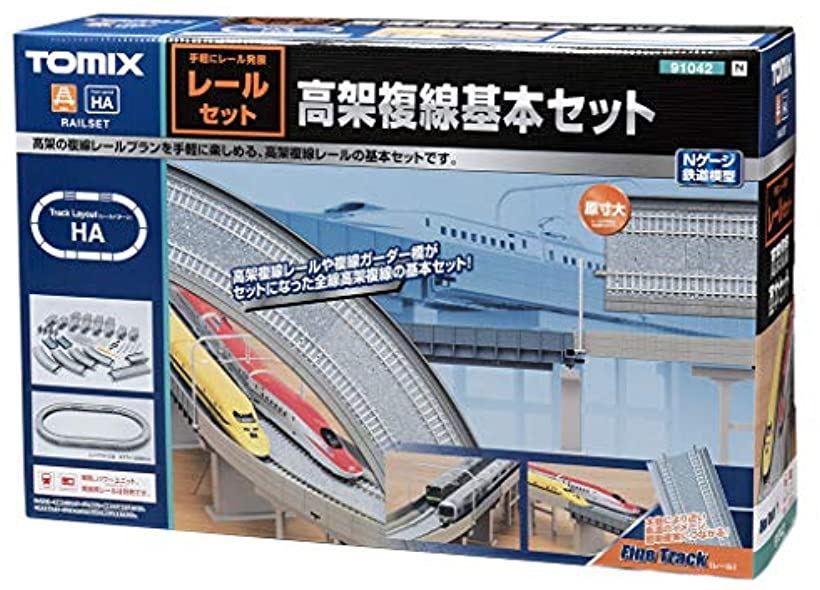 TOMIX Nゲージ 高架複線基本セット レールパターンHA 鉄道模型用品 91042