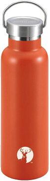スポーツボトル 水筒 直飲み ダブルステンレスボトル 真空断熱 HDボトル 600ml UE-3370(レッド)