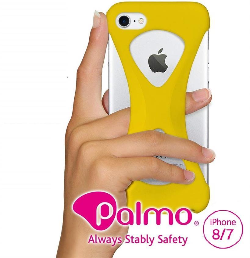 スマートフォン・携帯電話用アクセサリー, ケース・カバー Palmo iPhone 8 7 MIL Qi (Yellow, iPhone87)