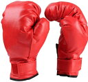 ボクシング ターゲット グローブ パンチパッド ストレス解消(グローブ赤色)
