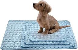 犬マット 犬マット夏用 犬マット冷感 犬マット防水 犬マット洗える ねこ うさぎ クールシート ブルーM