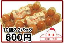 ココットレッド20個【10個入り×2パック】
