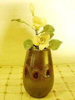 深紅色(シンコウショウ)のプチ花瓶
