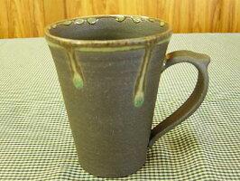 炭化ビードロマグカップ