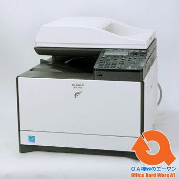 【水曜限定ポイント2倍】【ほぼ新品】コピー機/複合機シャープ(SHARP)A4カラーコピー機/複合機MX-C300W(コピー・FAX・プリンター・ネットワークスキャナー機能搭載)【】