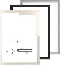 ポスター額縁かるフレーム(5008)ブラックA4