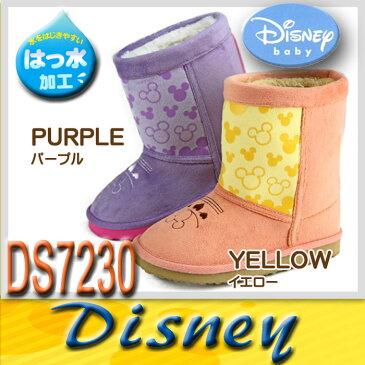 ディズニー ミッキーマウス ムートンブーツ スノーブーツ キッズ お子様 【DS7230】