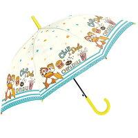 送料無料 子供 傘 55cm 女の子 男の子 傘 子供用 傘 かわいい ジャンプ 小学生 ディズニー チップ&デール
