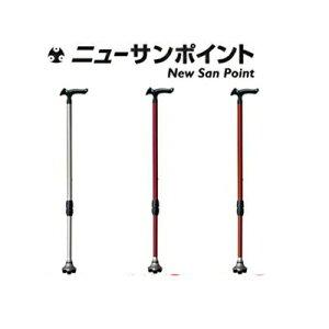 送料無料 3点杖 ステッキ 杖 握りやすいグリップ!安全安心3点でしっかり体重を支えます。■送...