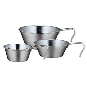 シェラカップ3個セット キャンピングカップ3個セット キャンピング用品 アウトドア用品 非常用品