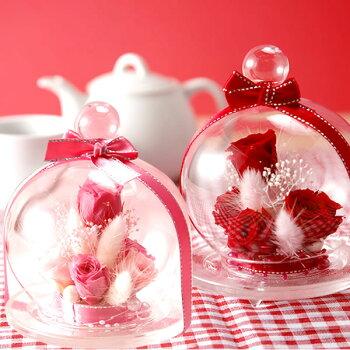 誕生日プレゼント送料無料クリスマスプレゼント!プリザーブドフラワーとスイーツセット花とお菓子お歳暮ギフトAA8