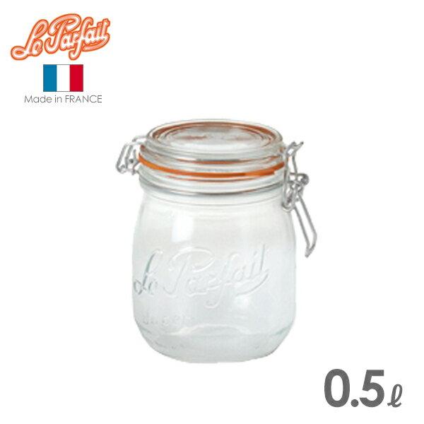 ル・パルフェ 密封ビン ボーカルジャー 0.5L (ND-2311) 保存瓶/ガラス/le parfait/ルパルフェ