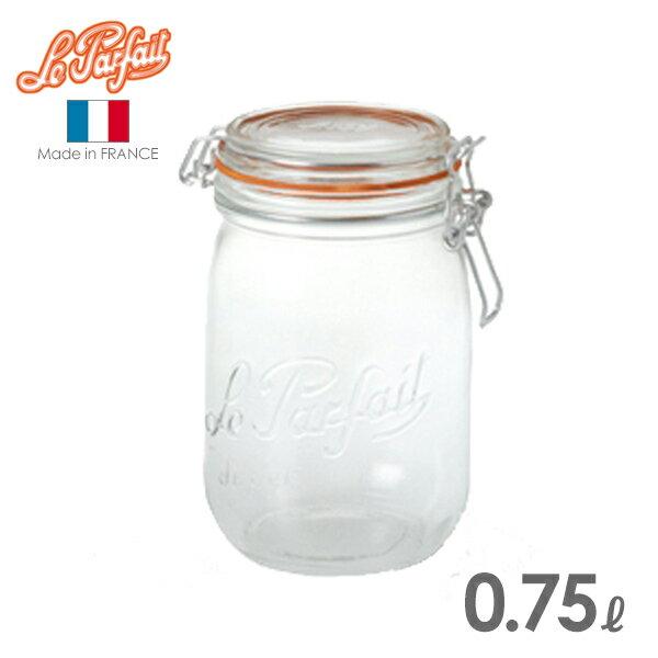 ル・パルフェ 密封ビン ボーカルジャー 0.75L (ND-2312) 保存瓶/ガラス/le parfait/ルパルフェ