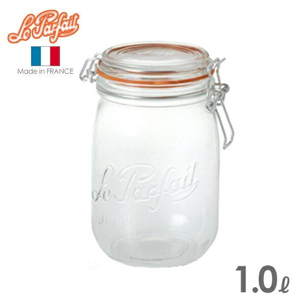 ル・パルフェ 密封ビン ボーカルジャー 1.0L (ND-2313) 保存瓶/ガラス/le parfait/ルパルフェ