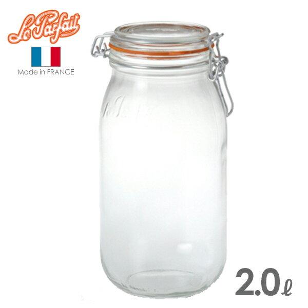 ル・パルフェ 密封ビン ボーカルジャー 2.0L (ND-2315) 保存瓶/ガラス/le parfait/ルパルフェ