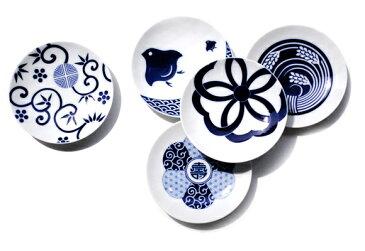 KOMON 豆皿 古典柄5枚組b