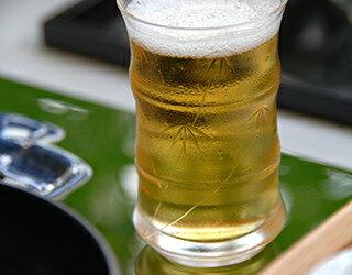 竹林ミニビール竹切子