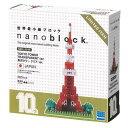 nano block ナノブロック【NBH_001R ナノブロック 10周年記念 東京タワー クリアver.】カワダ