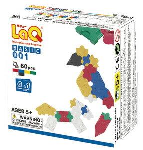 パズルタイプのブロック LaQ ラキュー ベーシックシリーズ【ベーシック 001/体験パック(平面)】...