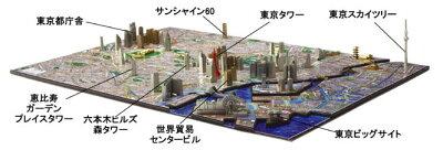 都市が刻む時を体感する、新しい立体パズル!【4D CITY SCAPE TIME PUZZLE 東京】やのまん
