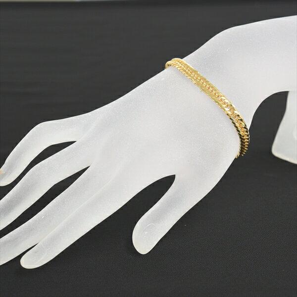 K18 ゴールド 8面トリプル 喜平ブレスレット 18cm 20g イエローゴールド キヘイ チェーン 18金 新品