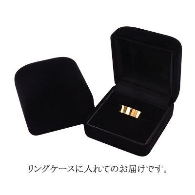 18金マリッジリングK18平打ちリングメンズレディース新品