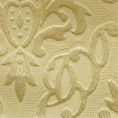 【カット売り】生地 紋章柄ブロケード(009-18035) 8.薄いベージュ k2