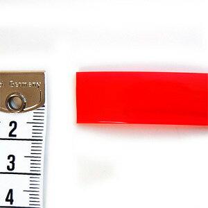 ビニールクリアテープ15mm2.赤4a