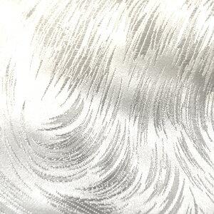 ジャガード生地 ラ・メール(028-3172) 4.白×ラメ (H)_at_