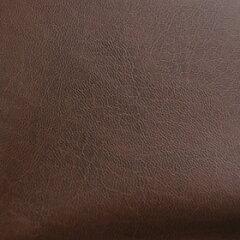 合皮生地 ウォッシャブルストレッチレザー(43032) 46.ブラウン k4