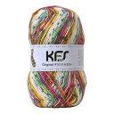 毛糸 Opal-オパール- オリジナルカラー KFS125.遊園地/ピンク・イエロー系マルチカラー (M)_b1j