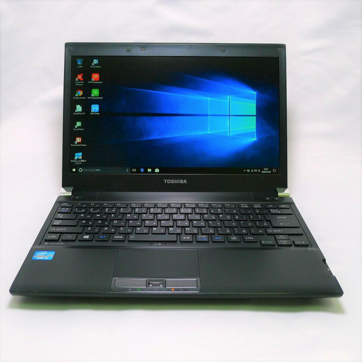 パソコン, ノートPC TOSHIBA dynabook R732 Core i5 4GB HDD250GB LAN Windows10 64bitWPSOffice 13.3