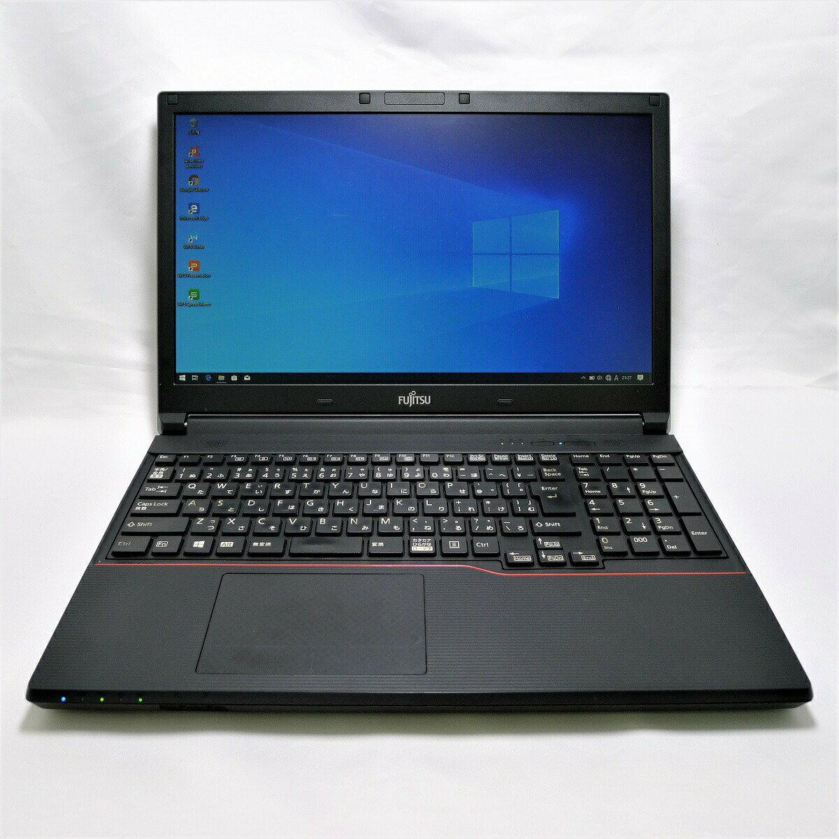 パソコン, ノートPC FUJITSU Notebook LIFEBOOK A744 Core i3 4GB HDD320GB DVD-ROM LAN Windows10 64bitWPS Office 15.6