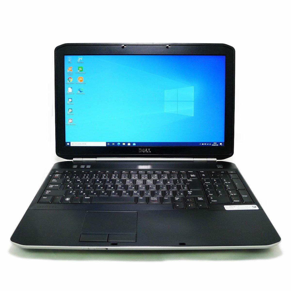 パソコン, ノートPC DELL Latitude E5520 Core i3 4GB HDD320GB LAN HD Windows10 64bitWPSOffice 15.6