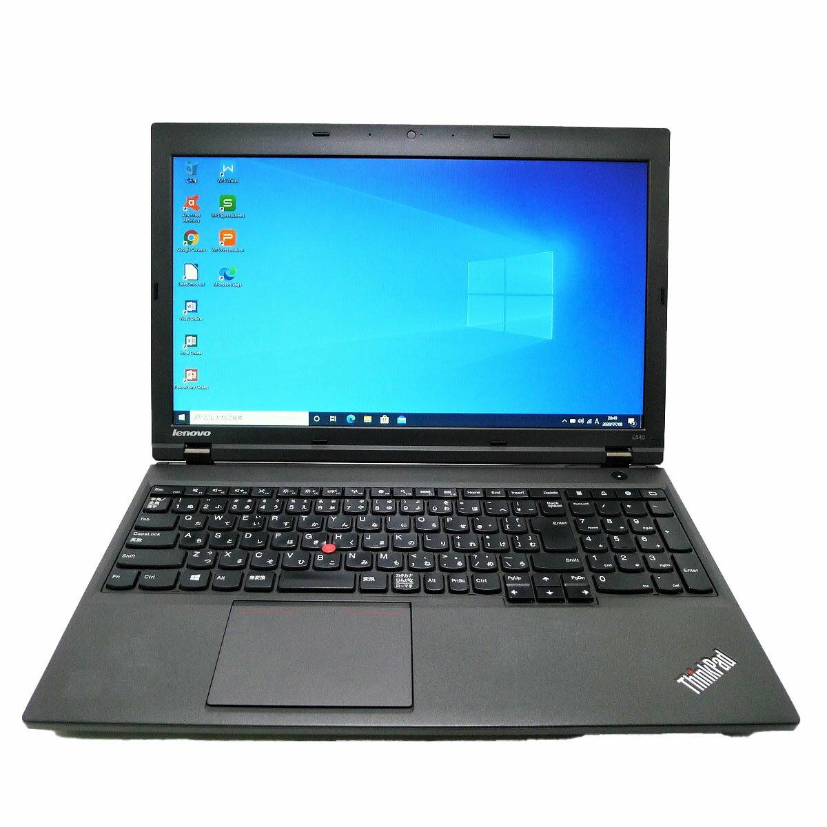 パソコン, ノートPC Lenovo ThinkPad L540 i5 4GB SSD4TB DVD-ROM LAN Windows10 64bit WPSOffice 15.6
