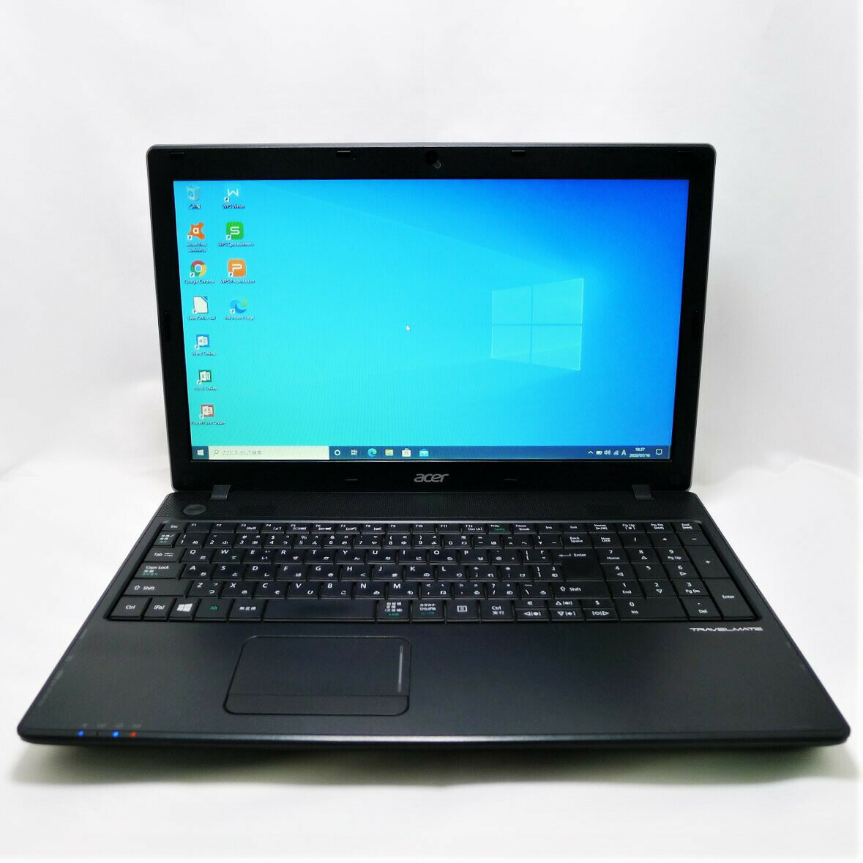 パソコン, ノートPC acer TRAVEL MATE P453 Celeron 4GB SSD240GB LAN Windows10 64bit WPSOffice 15.6