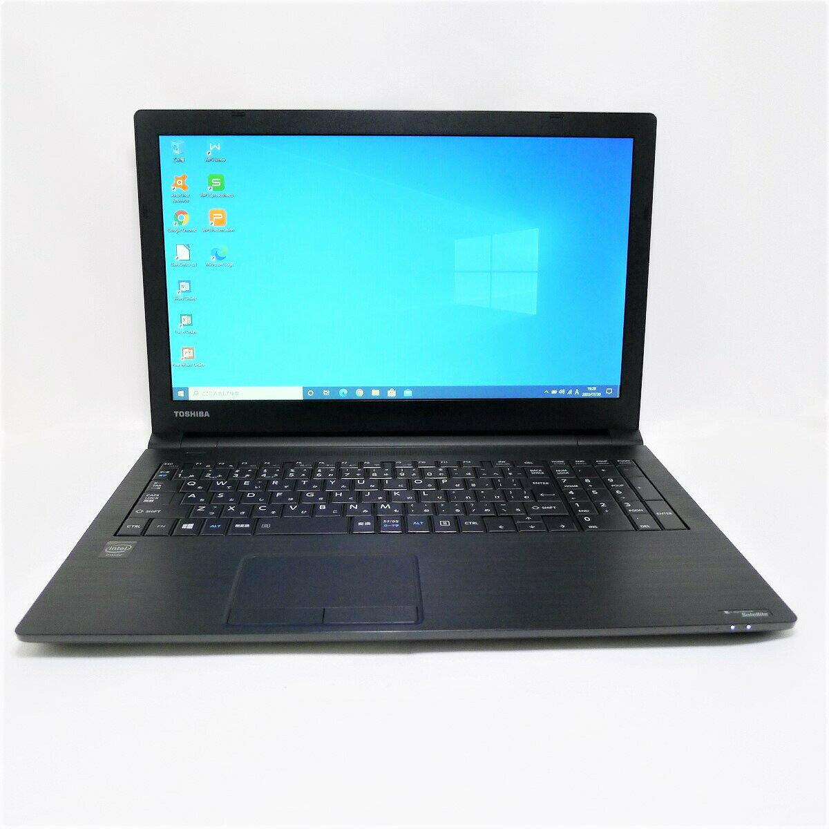 パソコン, ノートPC TOSHIBA dynabook Satellite B35 Celeron 16GB HDD250GB LAN Windows10 64bitWPSOffice 15.6